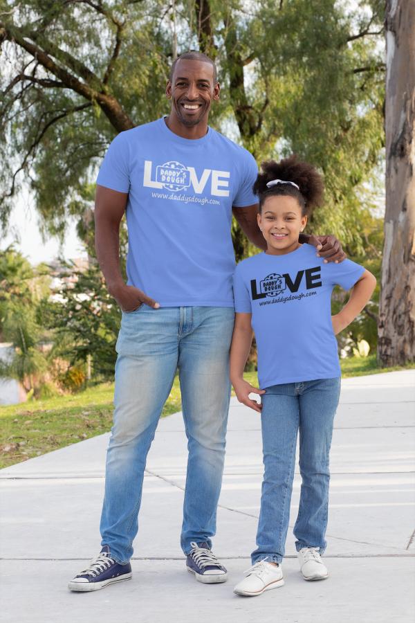 Daddy's Dough Light Blue T-Shirt